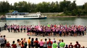 Edmonton Festival 2014 Breast Cancer Ceremony