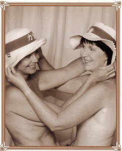 Ginny & Marlene in 2001 Calendar1