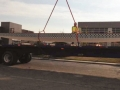 New Boat on Picker Being Delivered to Pam's