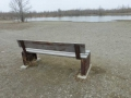 Third Bench: Facing the Pond