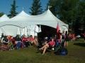 Tent relaxing