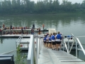 Team at the Dock