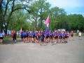 Lining up for the Breast Cancer Race