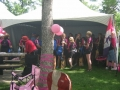 Getting ready for the Breast Cancer Race