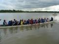 Everyone back paddle